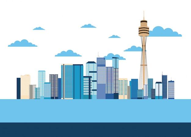 Lugares de australia se relacionan
