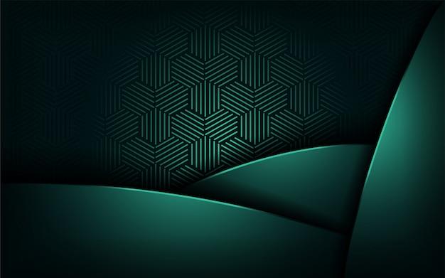 Lujo abstracto con fondo moderno superpuesto