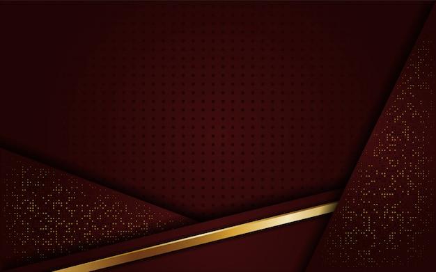 Lujoso elegante fondo marrón dorado