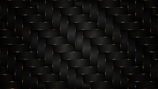 Lujoso fondo negro