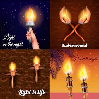 Luz de la antorcha