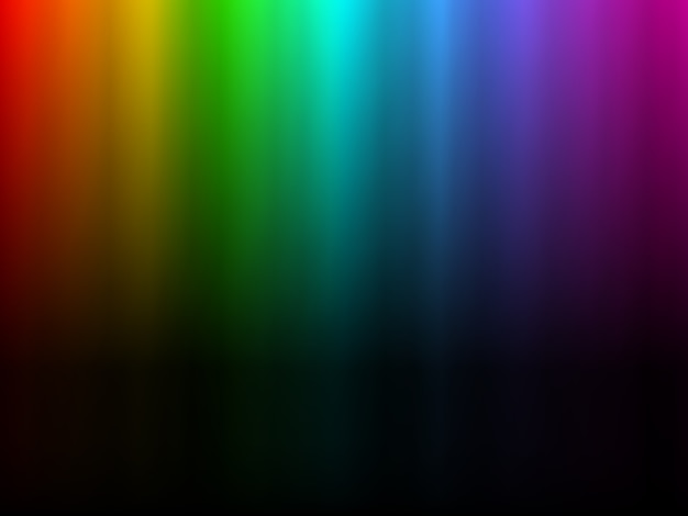 Luz del arco iris brillante colorido