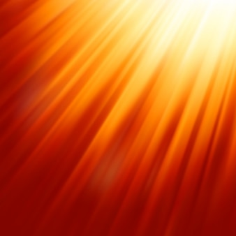 Luz cálida del sol.