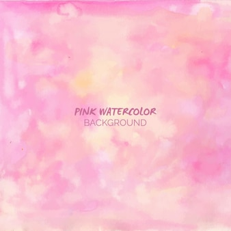 La luz de fondo de la acuarela de color rosa