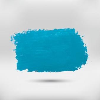 Macha de acuarela azul