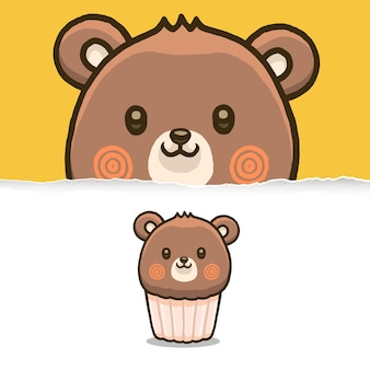 Magdalena linda del oso, diseño de personajes animales.