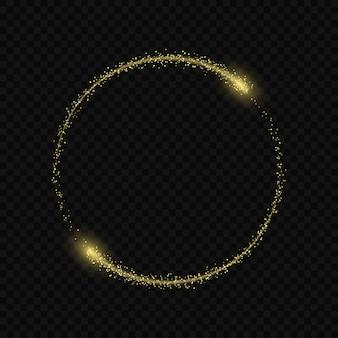Magia luz resplandor efecto estrellas ráfagas.