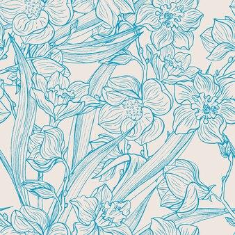 Magnolias y narcisos