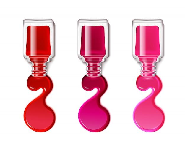 Manchas de esmalte de uñas