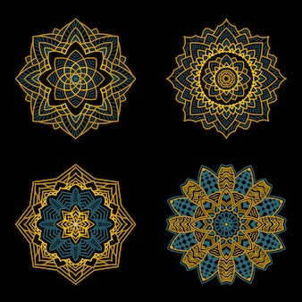 Mandala art decó