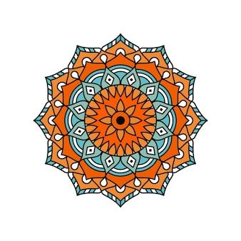 Mandala de color vectorial
