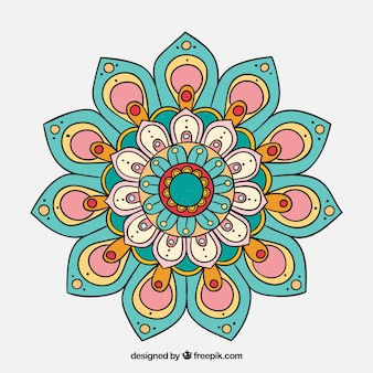 Mandala colorido