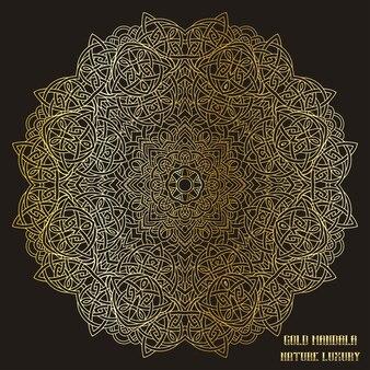 Mandala de oro