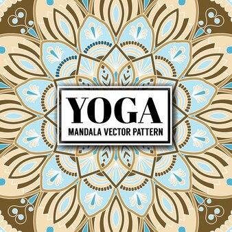 Mandala decorativo y patrón