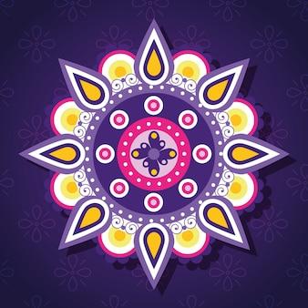 Mandala dibujada a mano