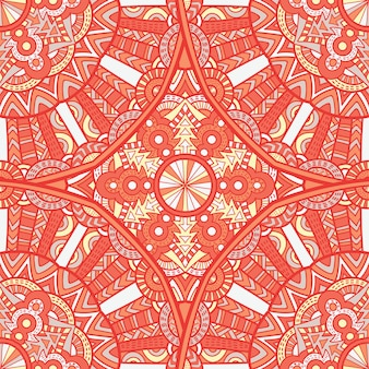 Mandala de diseño vectorial para impresión. ornamento tribal.