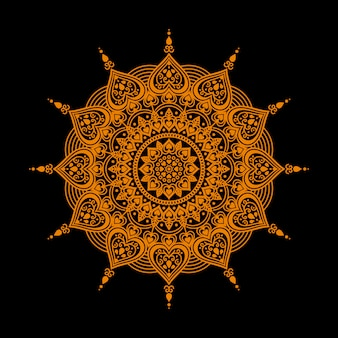 Mandala encantadora de lujo