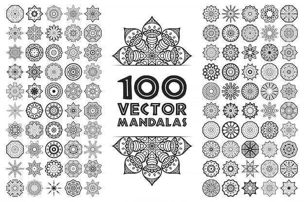Mandala en estilo étnico