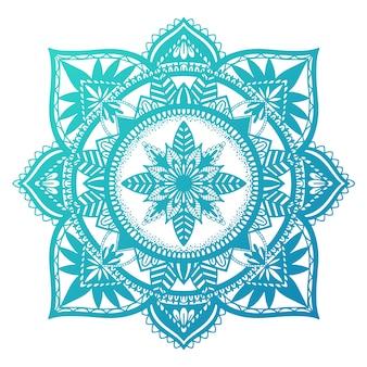 Mandala etnica de decoracion.