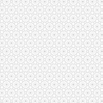 Mandala de lujo de patrones sin fisuras