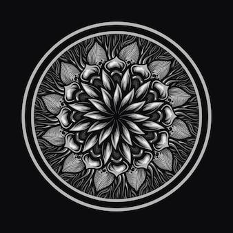 Mandala motivo