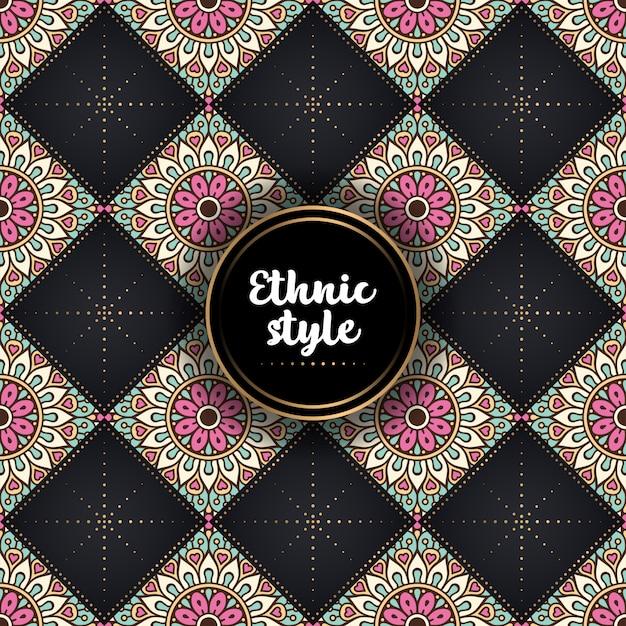 Mandala ornamental de lujo de diseño.