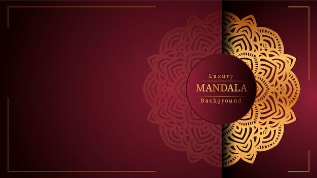 Mandala ornamental de lujo fondo mandala ornamental de lujo