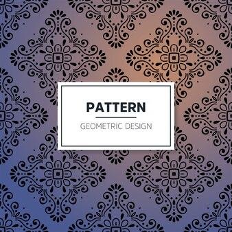 Mandala ornamental de lujo de patrones sin fisuras