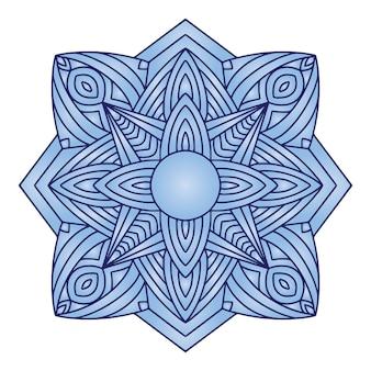 Mandala ornamental.