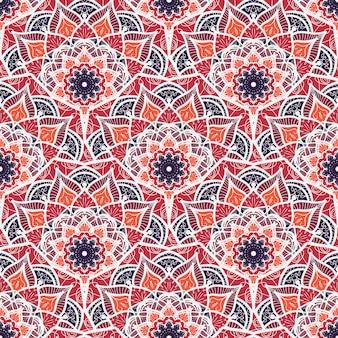 Mandala de patrones sin fisuras