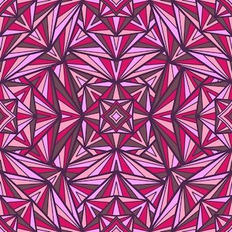 Mandala vector sin fisuras de fondo. adorno tribal