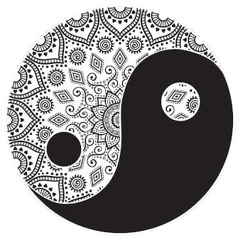 Mandala de yin y yang
