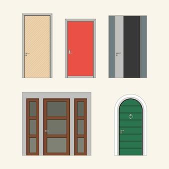 Manijas de las puertas modernas