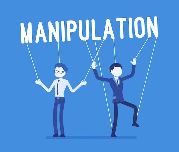Manipulación de cuerdas marionetas