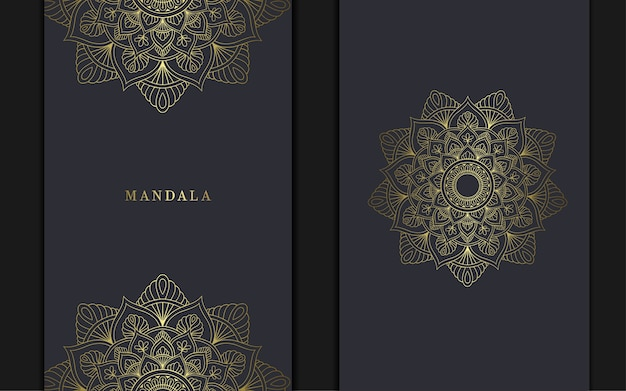 Mano dibujo elemento mandala zentangle para portada, invitación.