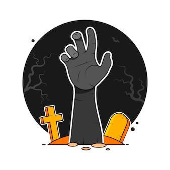 Mano de zombi