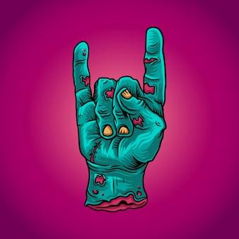 Mano zombie