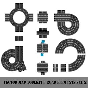 Map toolkit. posición de la vista superior.