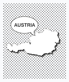Mapa de arte pop de austria