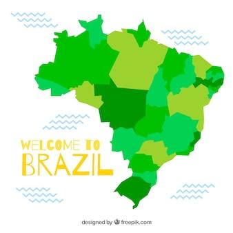 Mapa de brazil