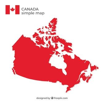 Mapa de canada