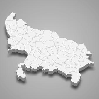 Mapa del estado de la india