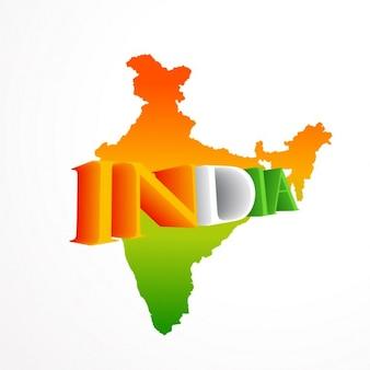 Mapa indio