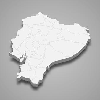 Mapa del país con fronteras