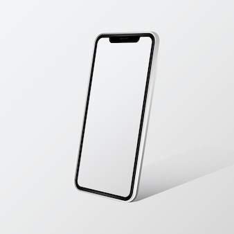 Maqueta de dispositivo digital