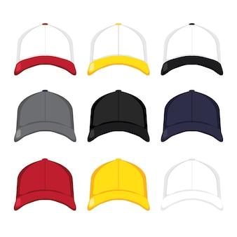 Maqueta de gorras