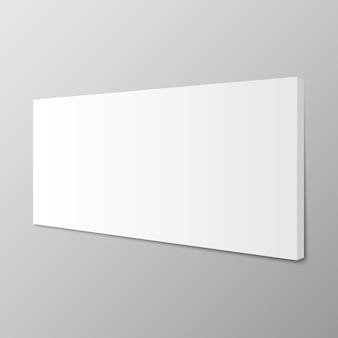 Maqueta de marco vertical para cuadros o fotografías colgadas en la pared