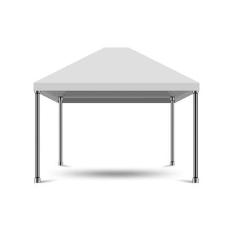 Maqueta de pabellón de exhibición al aire libre de exposición de carpa de dosel