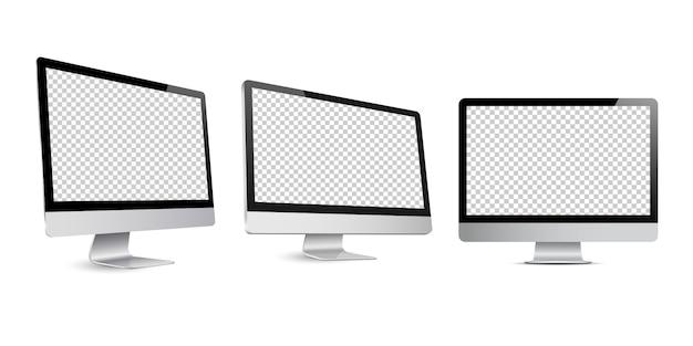 Maqueta de pantalla de computadora