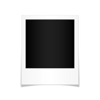 Maqueta de plantilla de marco de foto creativa, marco de fotos.